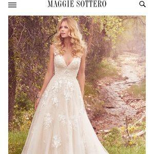 Maggie Sottero- Meryl wedding dress
